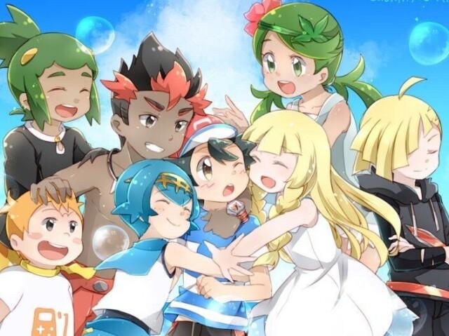 Quem você seria no Pokémon Sol e Lua?