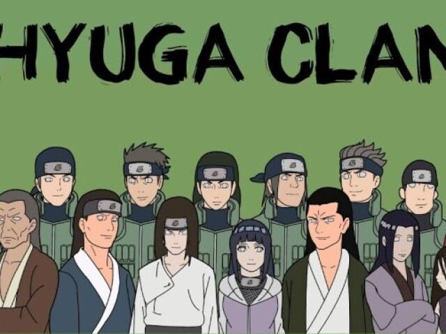 O que você conhece dos Hyuga?