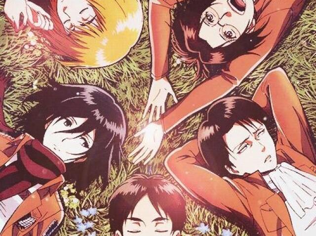 Qual seria seu par romântico em Shingeki no Kyojin?