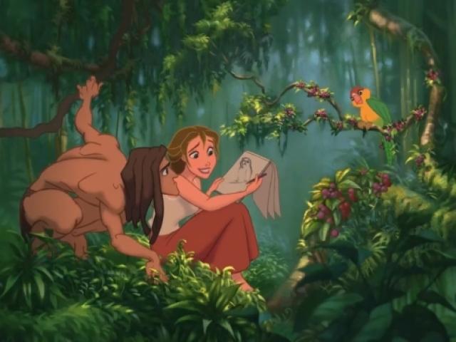 Quem você é do filme Tarzan?