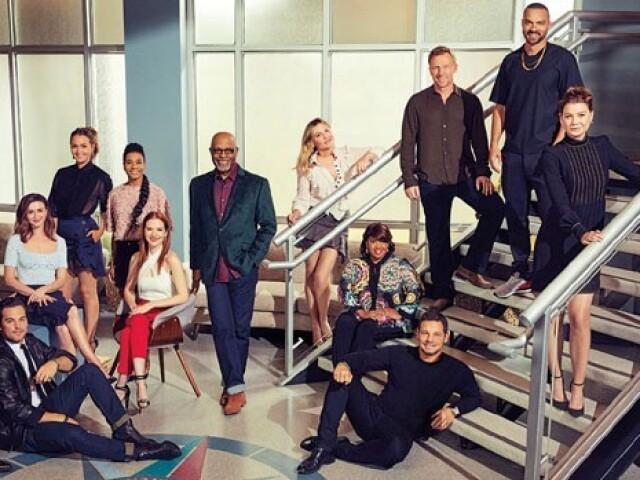 Grey's Anatomy- até a temporada 8