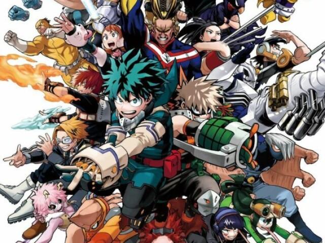 °•Você conhece os nomes dos personagens de Boku no Hero? •°