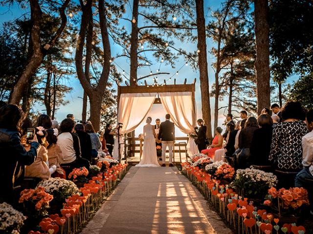 Onde será seu casamento?