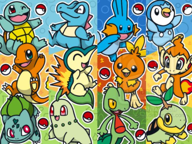 Que Pokémon inicial você é?