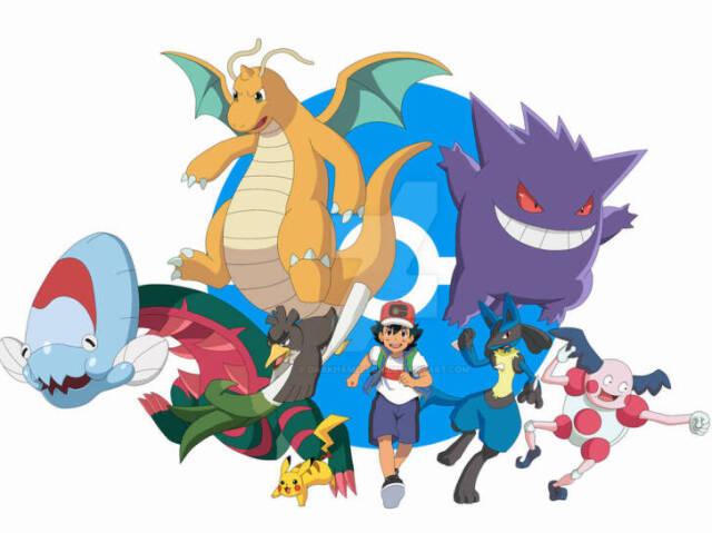 Qual Pokémon do Time de Ash em Pokémon Jornadas você seria ?