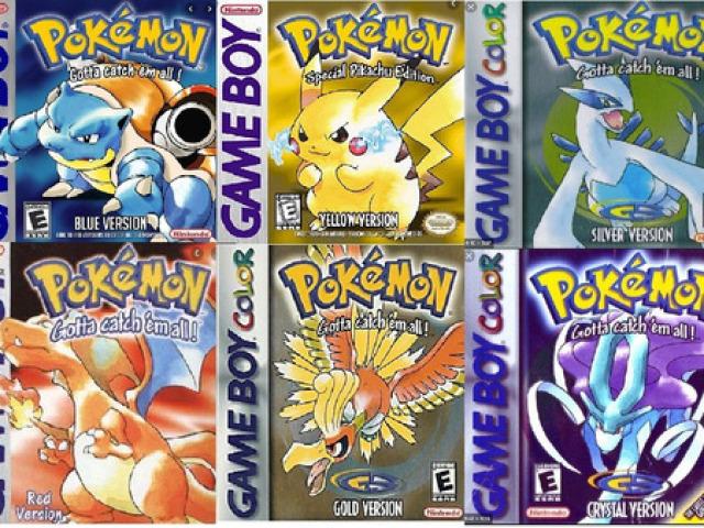 Jogos de pokemon que recomendo