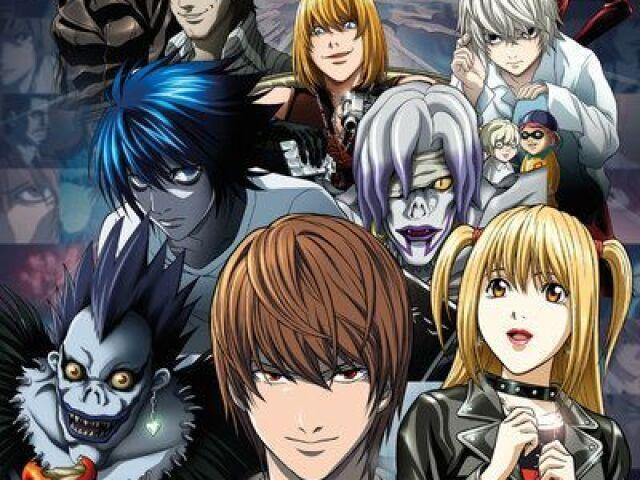 Quem você seria em Death Note?