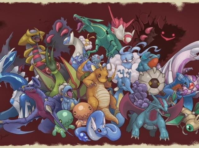 Que pokémon do tipo dragão voce é