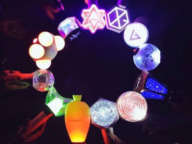 Tente adivinhar de que grupo de K-pop é esse Lightstick
