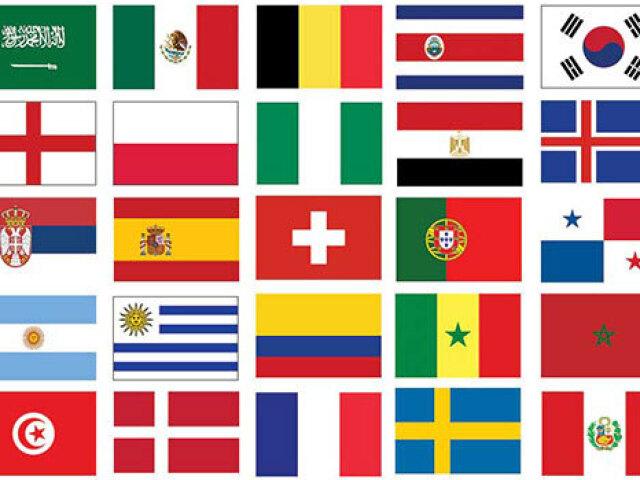 Você conhece mesmo as bandeiras mundiais?