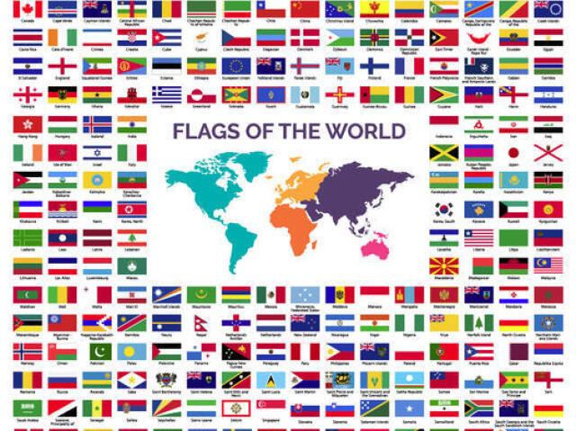 Você conhece todas as bandeiras de todos os países?