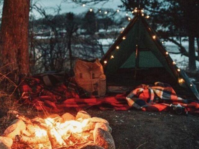 Monte seu acampamento 🏕