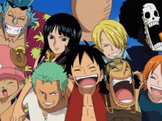 Quem você seria de One Piece?