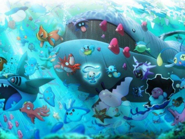 Que Pokémon tipo água você seria?