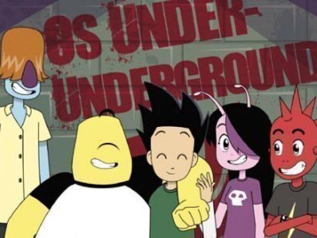 Qual personagem do desenho Os Under-Undergrounds você seria?