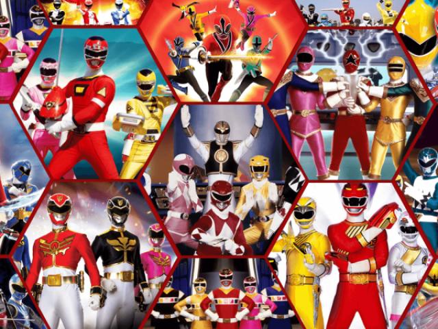 Quem é você em Power Rangers?
