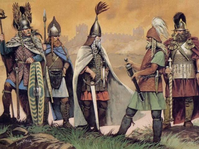¿Qué grupo celta serías?