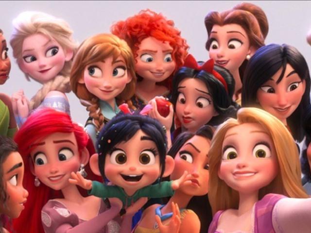 Qual princesa da Disney seria sua melhor amiga?
