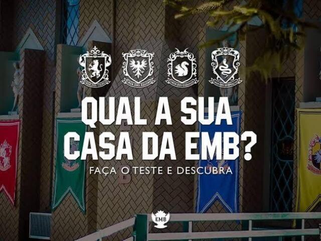 Qual é a sua casa da EMB?