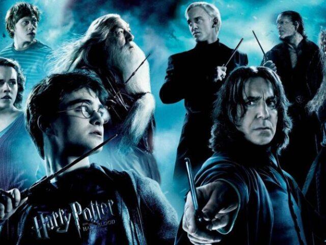 Qual a ordem cronológica dos filmes de Harry Potter?