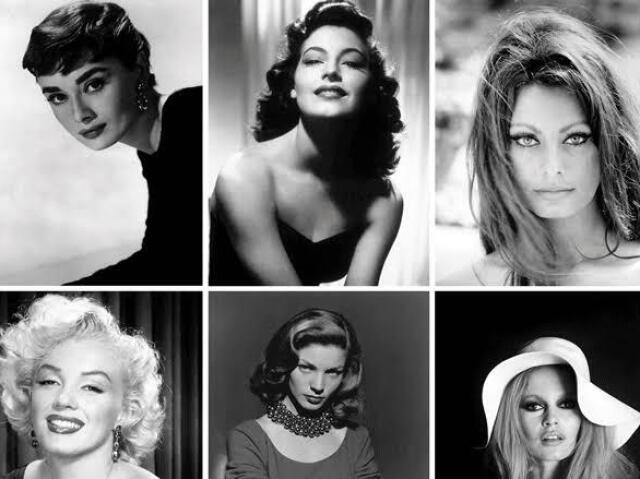Qual atriz antiga mais se parece com você?