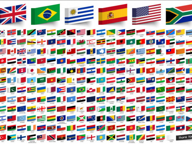 Adivinhe as bandeiras dos países