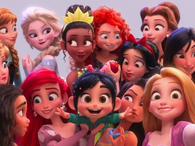 Adivinhe quais são as princesas