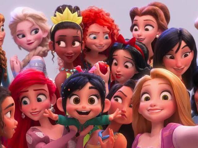 Adivinhe a idade das princesas e dos príncipes da Disney