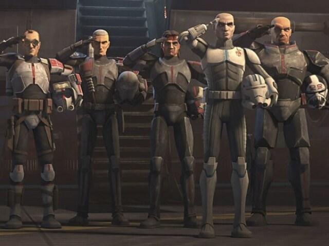 """Tu sabres o nome dos personagens principais da Clone Force 99 """"The Bad Batch""""?"""