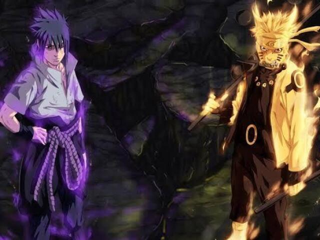 Você é mais Sasuke mais Naruto(Shippuuden)