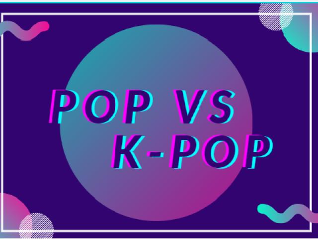 POP 𝘷𝘴 K-POP 💖