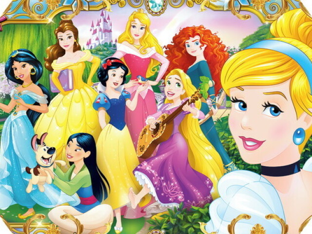 Qual princesa você seria!?