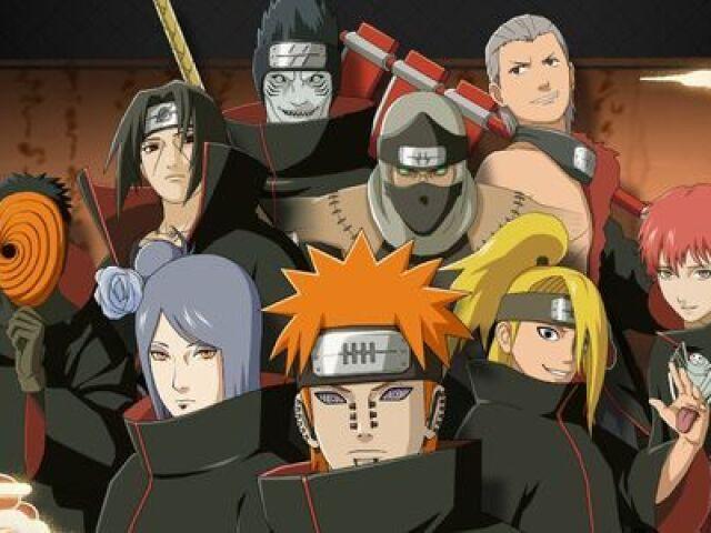 Você conhece os membros da Akatsuki?