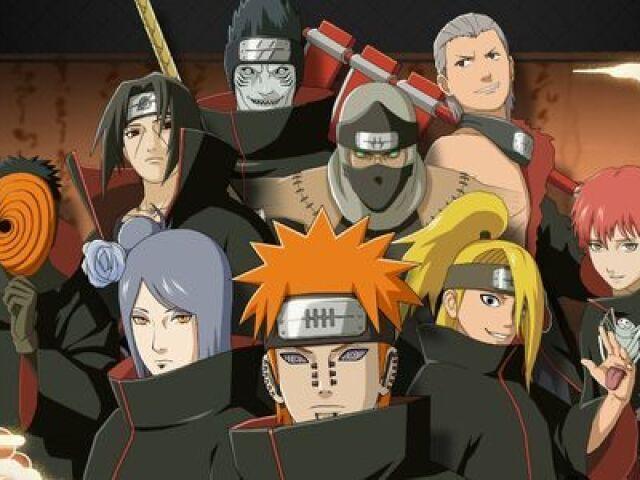 Você conhece os membros da Akatsuki? Parte 2