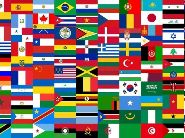 Você sabe o nome dessas bandeiras?
