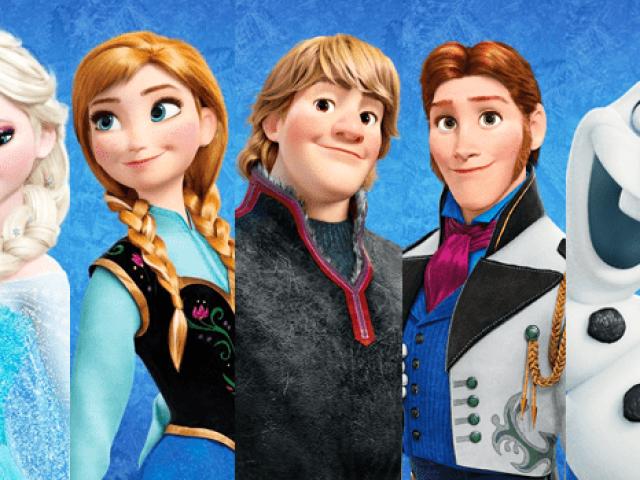 Qual personagem de Frozen você seria?