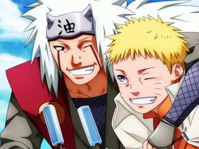 Qual seria seu sensei em Naruto?