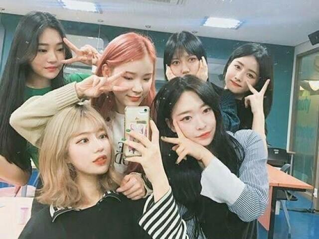 Monte seu grupo de k-pop!