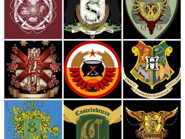 Em qual escola de magia de Harry Potter você estudaria?