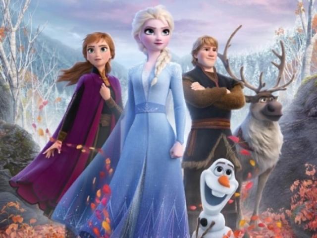 💙Quem vc seria no filme Frozen 2?