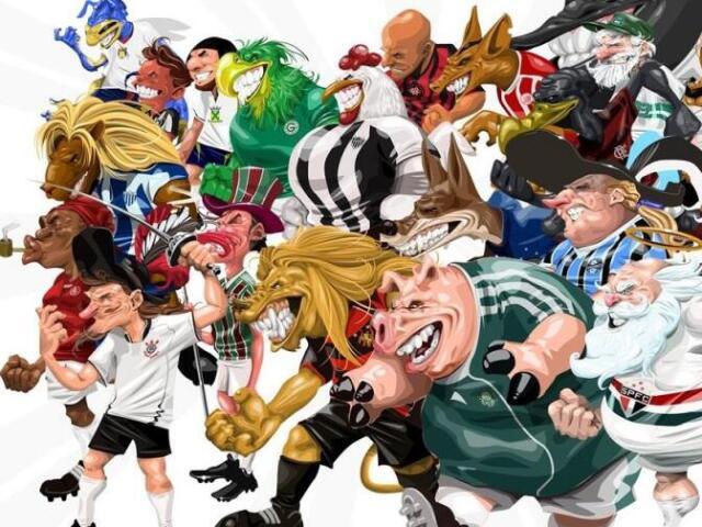 Qual é o time pelo mascote?