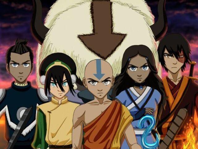 Quem seria seu namorado em Avatar - A Lenda de Aang?