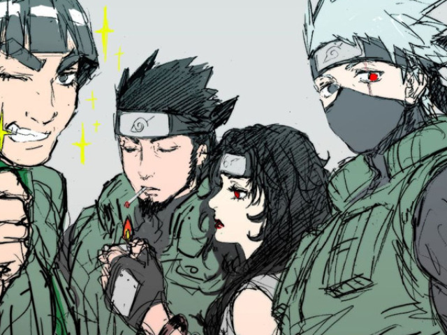 Quem seria seu sensei em Naruto?