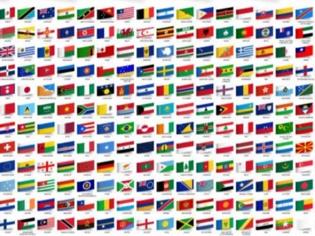 Você conhece esses países pela bandeira?