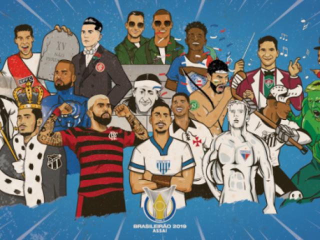 Qual é o jogador do brasileirão 2019?