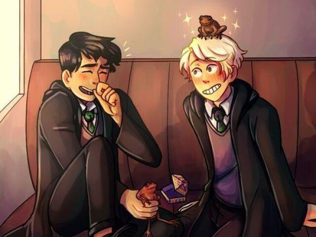 Monte sua vida em Hogwarts e eu te indico uma música.