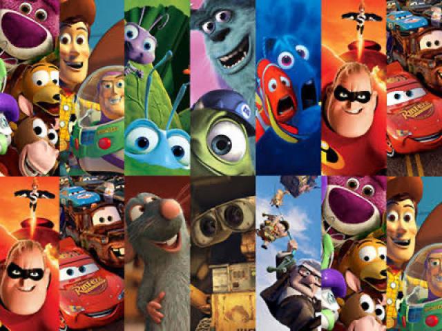 Qual é o filme da Disney/Pixar?