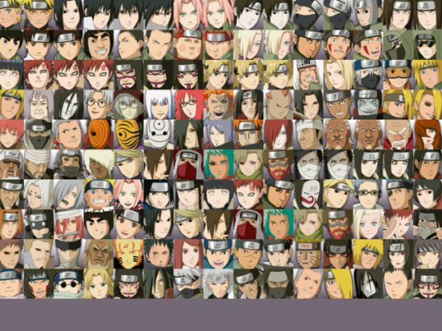 Adivinhe o nome dos personagens de Naruto