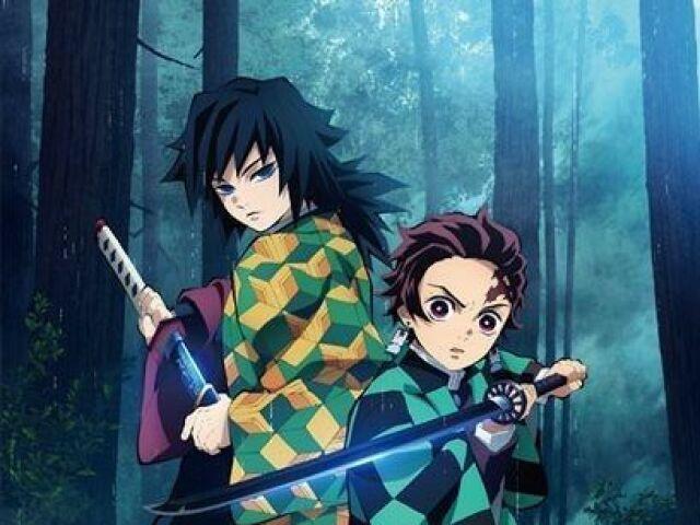 Você conhece Demon Slayer/ Kimetsu no Yaiba?
