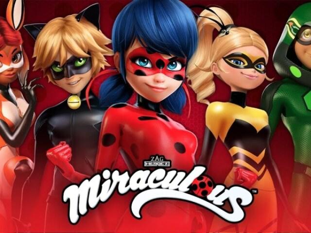Você conhece mesmo Miraculous?